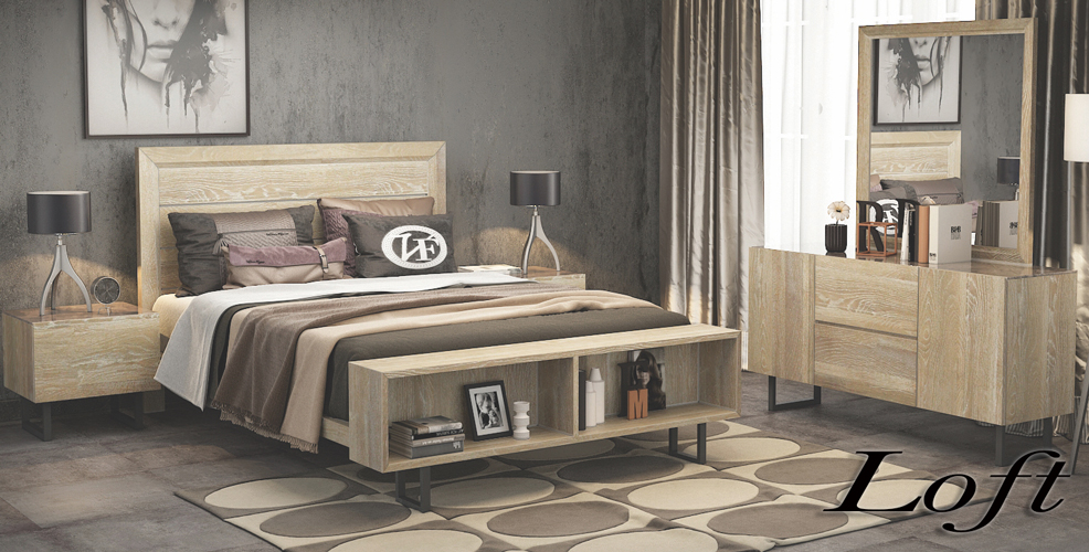 Loft Bedroom Furniture Range