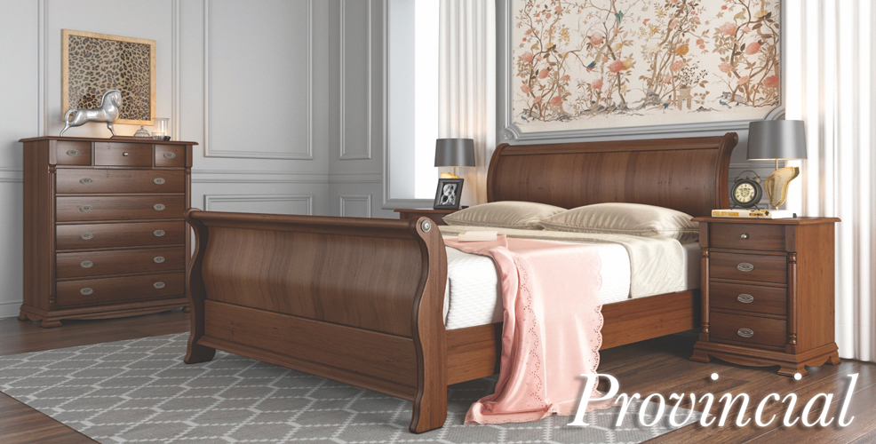 Provincial Bedroom Furniture Range