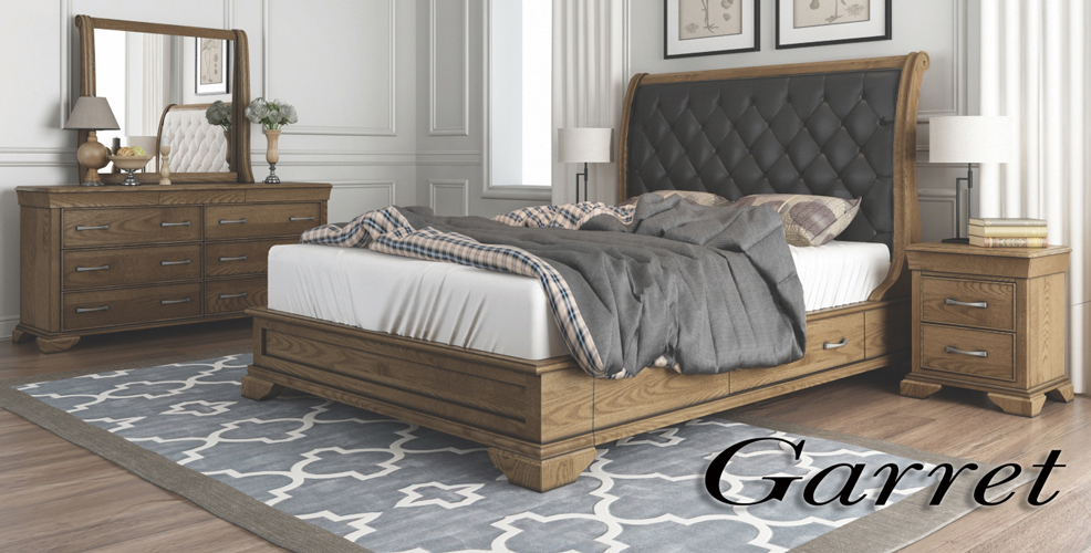 Garret Bedroom Furniture Range