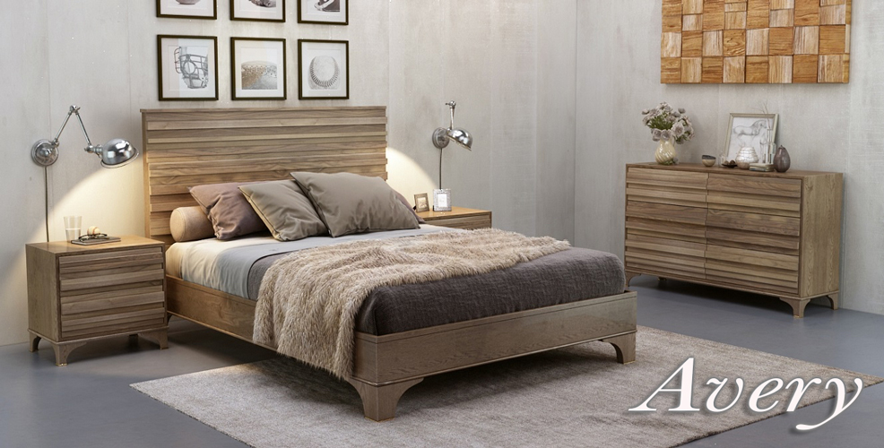 Avery Bedroom Furniture Range