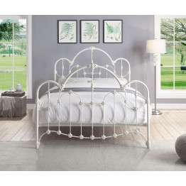 NORMANDY Queen Size Cast and Wrought Iron Bed