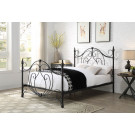 BOGART King Size Cast and Wrought Iron Bed