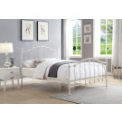 CLAREMONT King Size Cast and Wrought Iron Bed