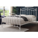 KATRINA Single Size Cast and Wrought Iron Bed